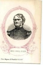 09x078.22 - Brig. General L. Polk C. S. A., Civil War Portraits from Winterthur's Magnus Collection